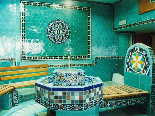 Bagno turco il benessere del vapore dieta - Il bagno turco dipinto ...