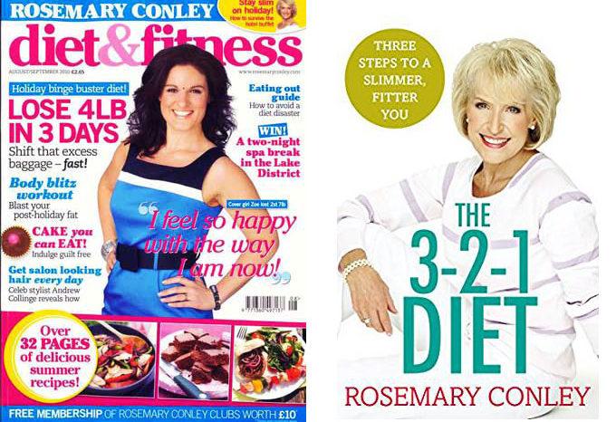 La dieta Rosemary Conley - Rassegna delle principali dieci diete - Parte IX